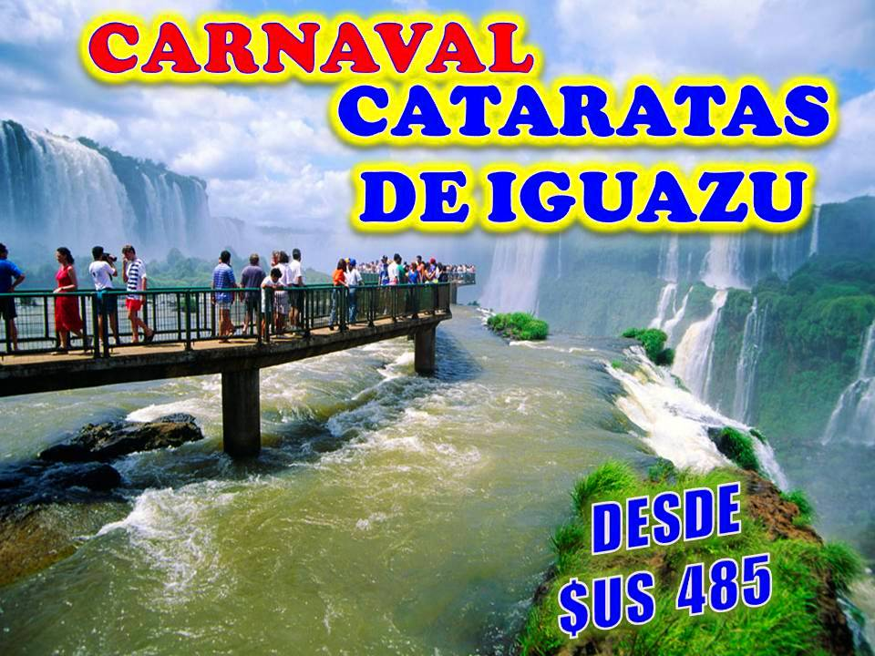 CARNAVAL EN LAS CATARATAS DE IGUAZU